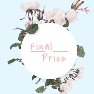 Items Marked 🌸 are final price !